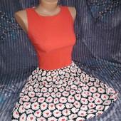 Класне літнє плаття з вирізом на спині