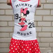 новое платье Disney.качество супер.в лоте красное 110.читать лот