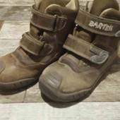 кожаные ботинки 26р