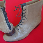 Ботинки ботильоны Miss Sixty натур кожа 38 размер