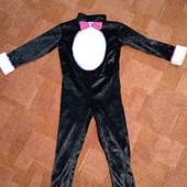 Велюровый костюм кошечки от TU 3-4г