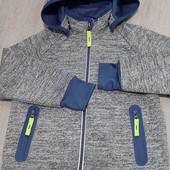 Ветрозащитная водоотталкивающая куртка-кофта Thcibo р. 98/104