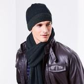 ⚙ Комфортна шапка на флісі від Tchibo (Німеччина), розмір універсальний