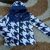 Тепленькая демисезонная куртка на синтепоне М-Л