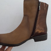Ботинки-сапоги Bonita(Германия) натур кожа оригинал 38 размер-24,5 см