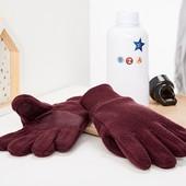 ☘ Теплі антиковзні рукавички на флісі від Tchibo (Німеччина), розмір: 110-128