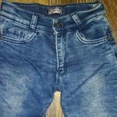 Тёплые джинсы на девочку 3-4 лет