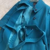 Теплое кашемировое пальто . Размер 48