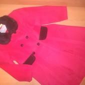 Пальто для девочки на 4-5лет, на рост 110-116