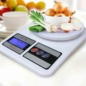 Кухонні ваги  з LED підсвічуванням