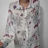 Красивая рубашка размер 14 замеры на фото