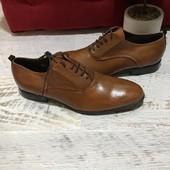 Туфлі із натуральної шкіри,від Minelli,розмір 41,устілка 28.Вітринна пара