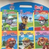 Набор раскрасок Щенячий патруль 6штук на планшете-держателе Nickelodeon !!!!