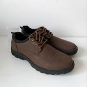 Осенние туфли для мужчин, практичные, хорошо смотрятся на ноге, размер 40,41,44,45