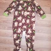 Пижама слип Carter's на 2-3 года