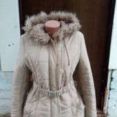 Хорошенькое деми и на теплую зиму пальто размер 48