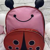 Яркий детский рюкзак божья коровка
