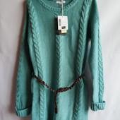 Вязаное детское подростковое платье французского бренда La Halle
