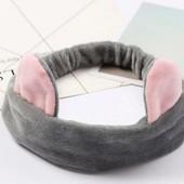 Повязка для волос с ушками