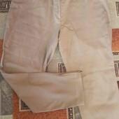 Бежевые люксовые брюки Бесплатная доставка свыше 5 ставок!смотрите мои лоты укрпочта