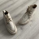 Ботинки кожаные San Marina 36 р-22,7 см стельки
