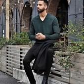 ☘ Чоловчий теплий светр Watsons (Німеччина), р. L 52/54 євро