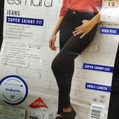 XX154.стильные джинсы syper Skinny Fit , от Esmara.