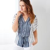 ☘ М'яка і ніжна блуза-туніка з пензликами від Tchibo (Німеччина), розміри наші: 46-50 (40/42 євро)