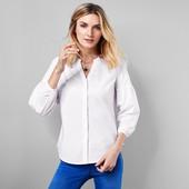 ☘ Класична ніжна блуза з об'ємними рукавами від Tchibo (Німеччина), наші розміри: 52-54 (46 євро)