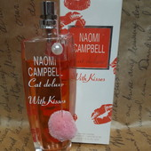 Naomi Campbell with kisses 75 ml