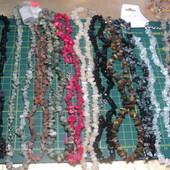 Бусы из натуральных камней (в лоте 2 фото с их видами), остатки, лот 1 шт, можно докупить