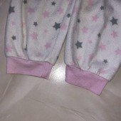 Стоп! ❤звёзды!Флисовые штаники для сна и отдыха,6-7 лет❤Собирайте лоты,экономьте на доставке