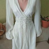 Шикарное,белоснежное платье от Next