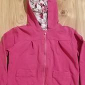 Шикарная розовая кофточка для модницы, р. 98.