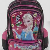 Рюкзак школьный C 46320 Холодное сердце 3D рисунок, 1 отделение, 3 кармана, массажная спинка Подробн