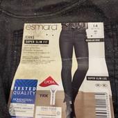 Esmara syper skinny fit с люрексовым напылением 40 размер