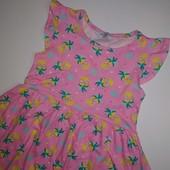 В идеале летнее платье primark на 2-3 года, рост 98 см