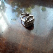 Кольцо,серебро,925 пробы.