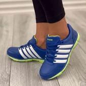 Новые женские кроссовки (кожа).