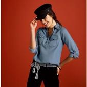 HH90.Блузка esmara жіноча, виготовлена з ліоцелу