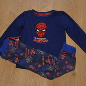Пижама х\б Marvel кофта-флис,штаны-х\б состояние очень хорошее