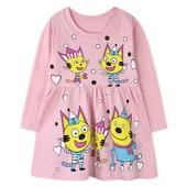 Платье Три кота размер 86-92