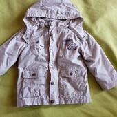 Куртка ветровка с подстежкой