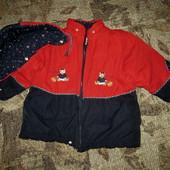 Качество! Теплая куртка от немецкого бренда Adagio в отличном состоянии/нюанс