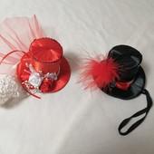 ЛоВиЛоТы! Две мини- шляпки для праздников и фотосессий
