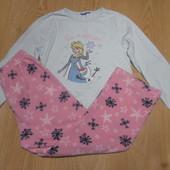 Пижама Primark кофта- х\б,штаны-флисовые состояние очень хорошее