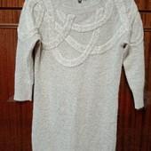 Платье с ангорой 40р.