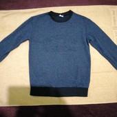 Школьный свитер для подростка. 146см.Читайте описание!