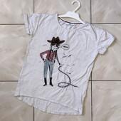Стоп !❤ Ковбойка,классная крутая фирменная футболочка,8-9 лет❤ Много лотов!