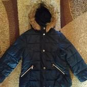 Оригинальная курточка Zara на девочку 116 рост. Нюанс.